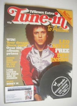 Tune-In magazine - Leo Sayer cover (Autumn 1979)