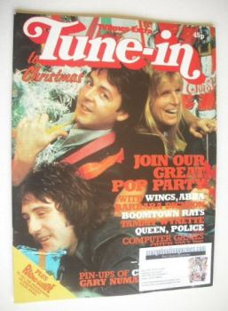 Tune-In magazine - Wings cover (Christmas 1979)