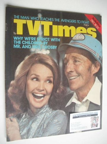 <!--1976-12-18-->TV Times magazine - Mr and Mrs Bing Crosby cover (18-24 De