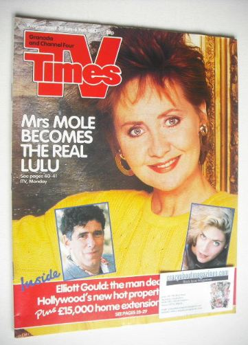 <!--1987-01-31-->TV Times magazine - Lulu cover (31 January - 6 February 19