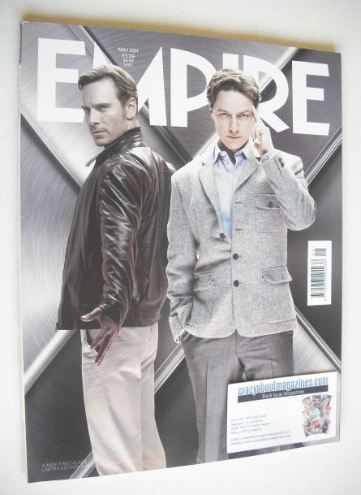 <!--2011-05-->Empire magazine - X-Men First Class cover (May 2011 - Issue 2