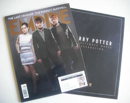 <!--2011-07-->Empire magazine - Harry Potter cover (July 2011)