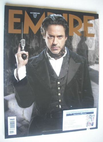 <!--2011-10-->Empire magazine - Robert Downey Jr cover (October 2011 - Subs