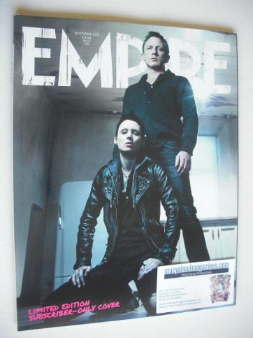 <!--2011-11-->Empire magazine - Daniel Craig and Rooney Mara cover (Novembe