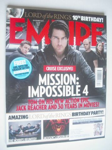 <!--2011-12-->Empire magazine - Mission: Impossible 4 cover (December 2011)