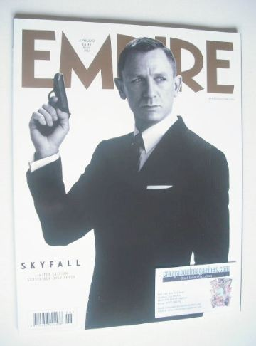 <!--2012-06-->Empire magazine - Daniel Craig cover (June 2012 - Issue 276)