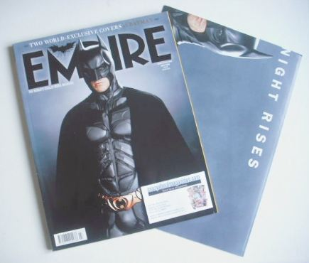 <!--2012-07-->Empire magazine - Batman cover (July 2012 - Subscriber's Issu