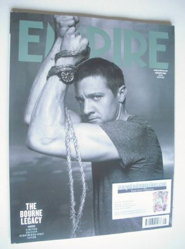 <!--2012-08-->Empire magazine - Jeremy Renner cover (August 2012 - Subscrib