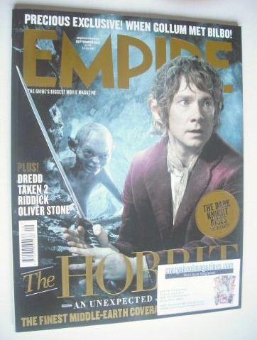 <!--2012-09-->Empire magazine - Martin Freeman cover (September 2012 - Issu