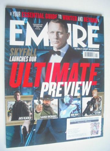 <!--2012-10-->Empire magazine - Daniel Craig cover (October 2012 - Issue 28