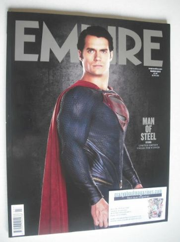 <!--2013-03-->Empire magazine - Henry Cavill Superman cover (March 2013 - I