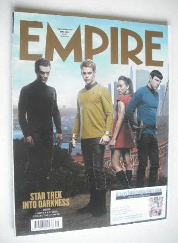 <!--2013-05-->Empire magazine - Star Trek Into Darkness cover (May 2013 - S