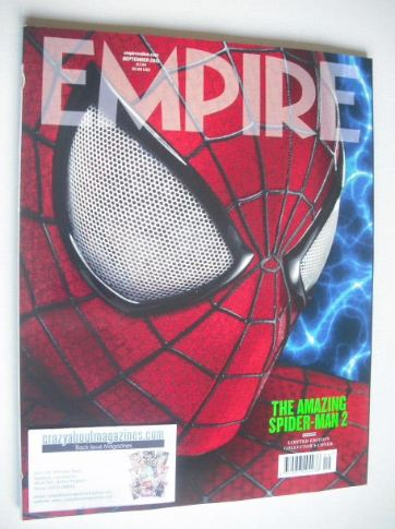 <!--2013-09-->Empire magazine - The Amazing Spider-Man 2 cover (September 2