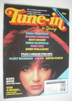 Tune-In magazine - Kate Bush cover (Spring 1979)
