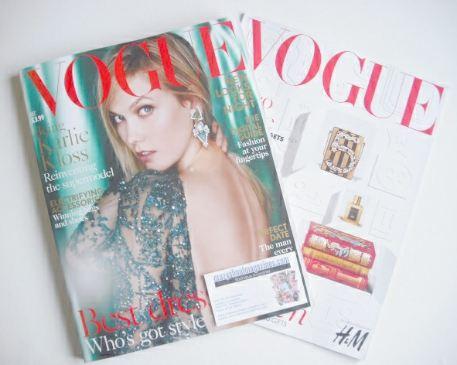 <!--2015-12-->British Vogue magazine - December 2015 - Karlie Kloss cover