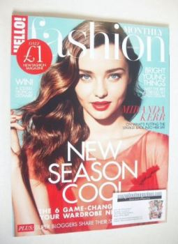 Hello! Fashion Monthly magazine - Miranda Kerr cover (September 2015)