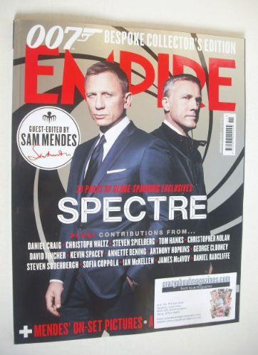 <!--2015-11-->Empire magazine - Spectre cover (November 2015)
