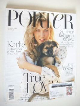 Porter magazine - Karlie Kloss cover (Summer 2015)