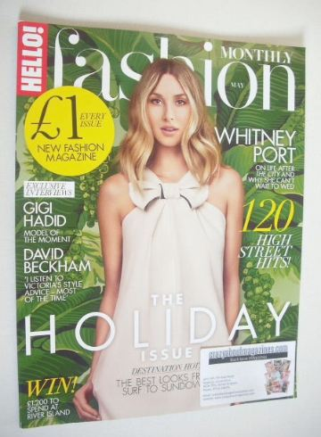 <!--2015-05-->Hello! Fashion Monthly magazine - Whitney Port cover (May 201