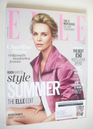 <!--2015-06-->British Elle magazine - June 2015 - Charlize Theron cover