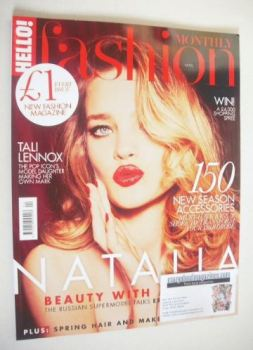 Hello! Fashion Monthly magazine - Natalia Vodianova cover (April 2015)