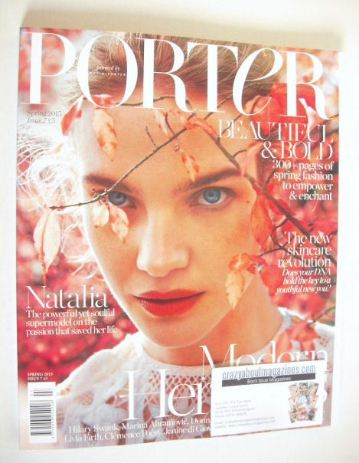 <!--2015-04-->Porter magazine - Natalia Vodianova cover (Spring 2015)