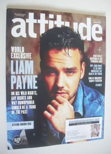 <!--2015-10-->Attitude magazine - Liam Payne cover (October 2015 - Cover 1/