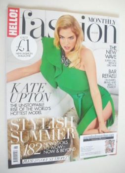 Hello! Fashion Monthly magazine - Kate Upton cover (August 2015)