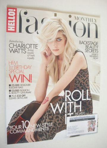 <!--2015-11-->Hello! Fashion Monthly magazine - Charlotte Watts cover (Nove