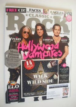 Classic Rock magazine - November 2015 - Hollywood Vampires cover