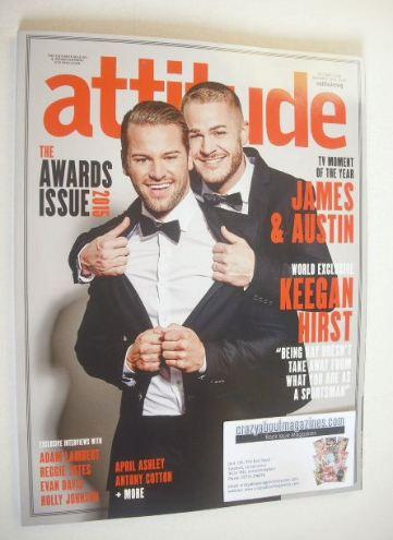 <!--2015-11-->Attitude magazine - The Awards Issue (November 2015)