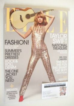 US Elle magazine - June 2015 - Taylor Swift cover