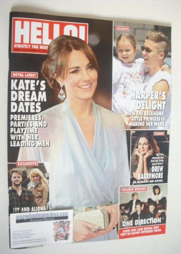 <!--2015-11-09-->Hello! magazine - The Duchess of Cambridge cover (9 Novemb