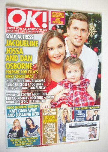 <!--2015-12-08-->OK! magazine - Dan Osborne and Jacqueline Jossa cover (8 D