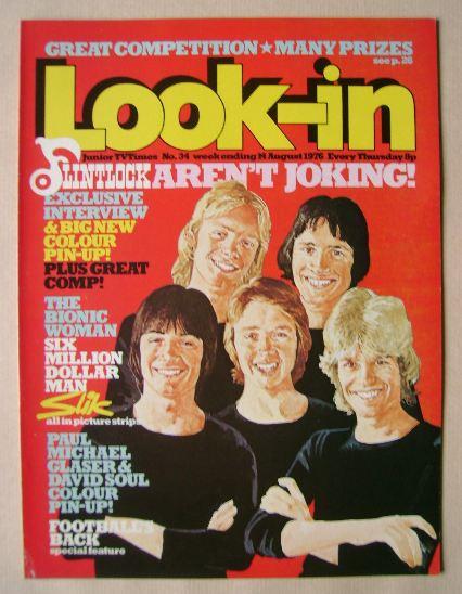 <!--1976-08-14-->Look In magazine - Flintlock cover (14 August 1976)