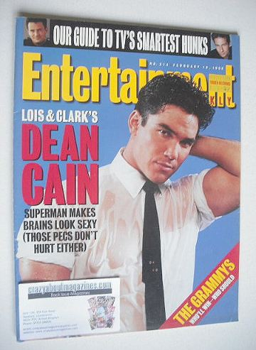 <!--1996-02-16-->Entertainment Weekly magazine - Dean Cain cover (16 Februa