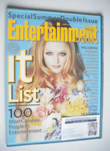 <!--1999-06-25-->Entertainment Weekly magazine - Heather Graham cover (25 J