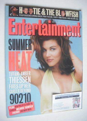 <!--1995-07-28-->Entertainment Weekly magazine - Tiffani-Amber Thiessen cov