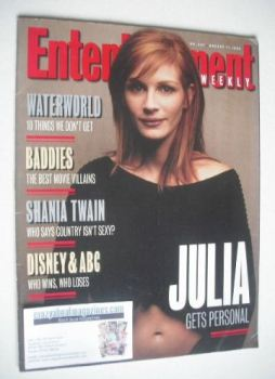 Entertainment Weekly magazine - Julia Roberts cover (11 August 1995)