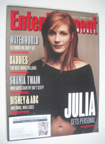 <!--1995-08-11-->Entertainment Weekly magazine - Julia Roberts cover (11 Au