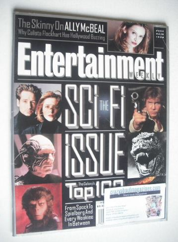 <!--1998-10-16-->Entertainment Weekly magazine - The Sci-Fi Issue (16 Octob