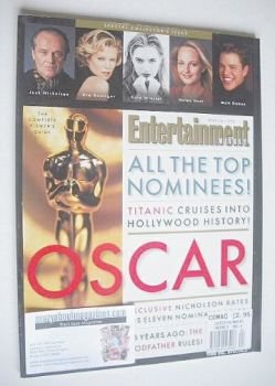 Entertainment Weekly magazine - The Oscar Issue (March 1998)