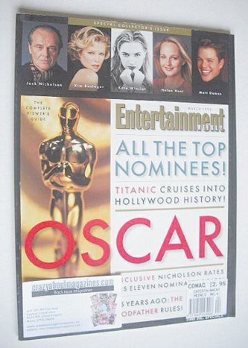 <!--1998-03-->Entertainment Weekly magazine - The Oscar Issue (March 1998)