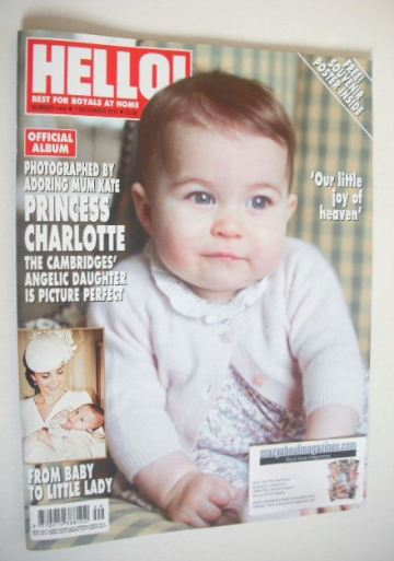 <!--2015-12-07-->Hello! magazine - Princess Charlotte cover (7 December 201