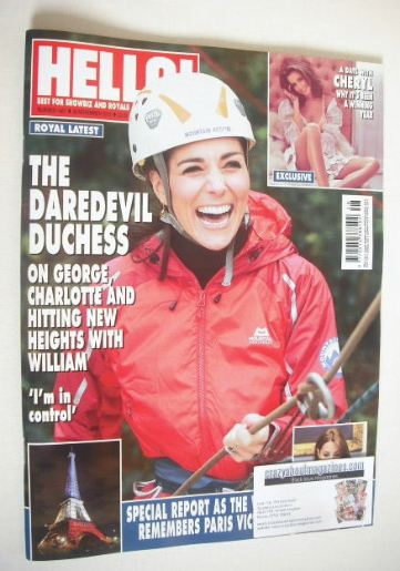 <!--2015-11-30-->Hello! magazine - The Duchess Of Cambridge cover (30 Novem