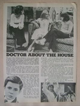 Richard O'Sullivan - magazine clipping from 1974