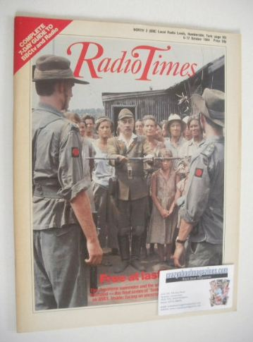 <!--1984-10-06-->Radio Times magazine - Tenko cover (6-12 October 1984)