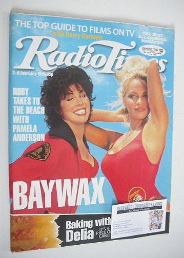 <!--1996-02-03-->Radio Times magazine - Ruby Wax and Pamela Anderson cover