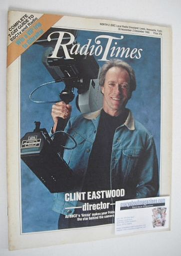 <!--1988-11-26-->Radio Times magazine - Clint Eastwood cover (26 November -
