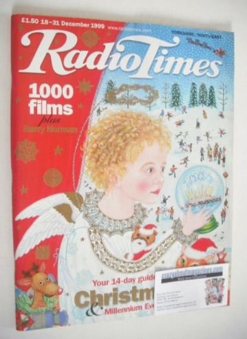 <!--1999-12-18-->Radio Times magazine - Christmas and Millennium Eve cover